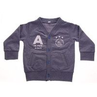 Baby vestje ajax blauw: A is for Ajax