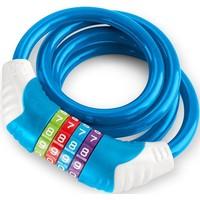 Veiligheids kabelslot Puky blauw