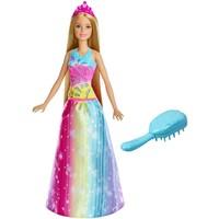 Twinkelend haar prinses Barbie