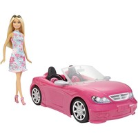 Cabrio met pop Barbie