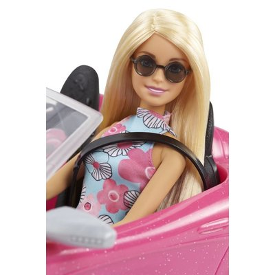 Barbie Cabrio met pop Barbie