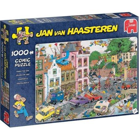 Jan van Haasteren Puzzel JvH: Vrijdag de 13e 1000 stukjes