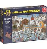 Jan van Haasteren Puzzel JvH: De Winterspelen 1000 stukjes