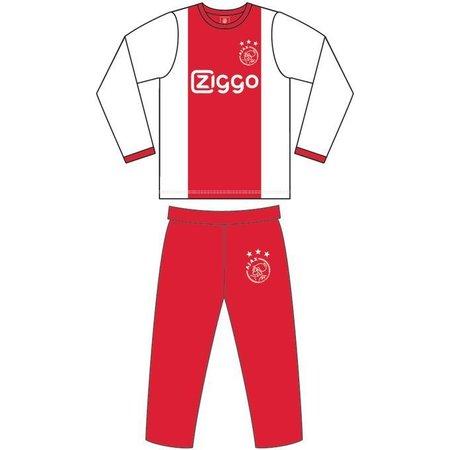 AJAX Amsterdam Pyjama ajax Amsterdam rood/wit ZIGGO maat 140