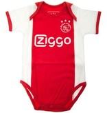 AJAX Amsterdam Rompertje Ajax Amsterdam wit/rood/wit Ziggo maat 86/92