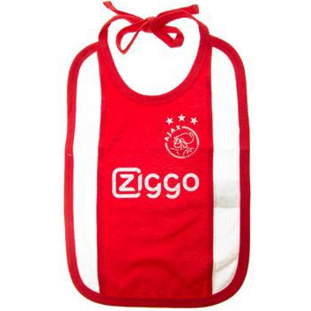 AJAX Amsterdam Slabbetje Ajax Amsterdam wit/rood/wit Ziggo
