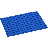 Grondplaat Hubelino: blauw 140 noppen