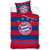 Dekbedovertrek Bayern Munchen rood/blauw