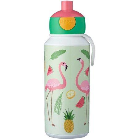 grote verscheidenheid aan stijlen officiële winkel online te koop Pop-up beker Tropical Flamingo Mepal