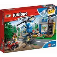 Politieachtervolging in de bergen Lego