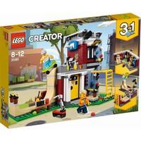 Modulair skatehuis Lego