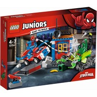 Spider-Man vs Scorpion straatduel Lego