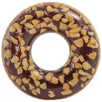 Zwemband opblaasbaar Intex donut choco 114 cm