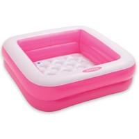 Zwembad opblaasbaar Intex roze 85x85x23 cm