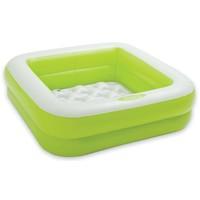Zwembad opblaasbaar Intex groen 85x85x23 cm