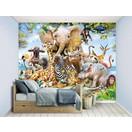 Walltastic Behang Jungle Safari Walltastic 245x305 cm