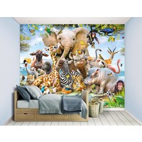Behang Jungle Safari Walltastic 245x305 cm
