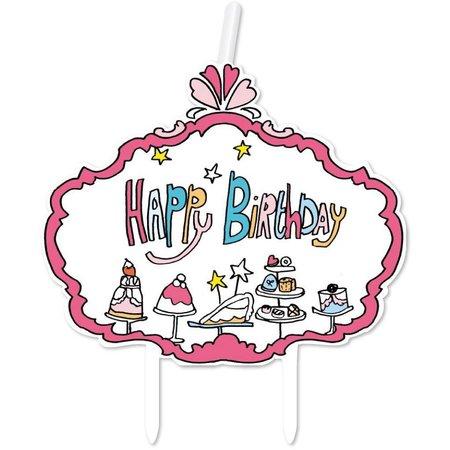 Jill Kaarsje Happy Birthday Jill