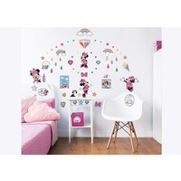 Muursticker Minnie Mouse Walltastic 66 stickers