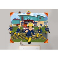 Behang Brandweerman Sam 3d Walltastic 121x152x15 cm
