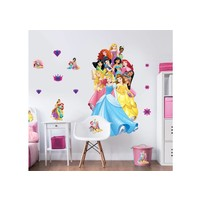 Muursticker Princess Walltastic 122 cm