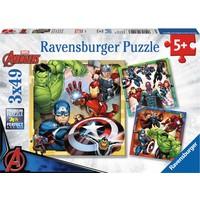 Puzzel The Avengers: 3x49 stukjes