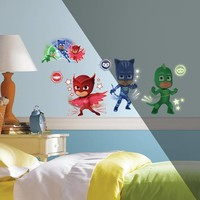 Muursticker PJ Masks RoomMates Glow in the dark