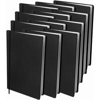 Boekenkaft rekbaar Dresz A4 12-pack Black