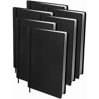 Boekenkaft rekbaar Dresz A4 6-pack Black