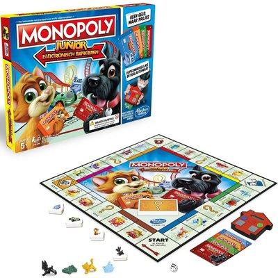 Hasbro Monopoly junior Electronisch Bankieren