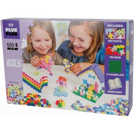 PlusPlus Mini Pastel Plus-Plus Starterset 600 stuks