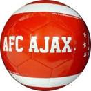 AJAX Amsterdam Bal ajax leer groot rood est 1900