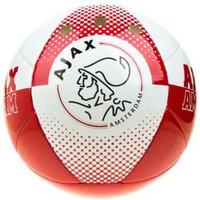 Bal ajax leer groot wit/rood AFC