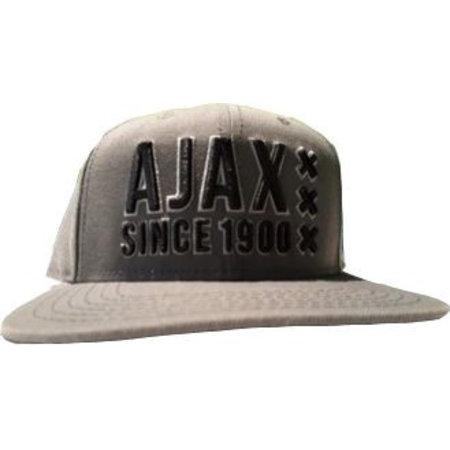 AJAX Amsterdam Cap ajax senior grijs/zwart panel
