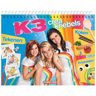 K3 K3 Boek - Creakriebels