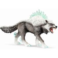 Schleich Sneeuwwolf 42452 - Speelfiguur - Eldrador - 15 x 8,2 x 18 cm