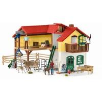 Schleich Grote boerderij 42407 - Speelfigurenset - Farm World - 70 x 45 x 33 cm