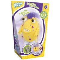 Foamdough ToTum springend monster geel