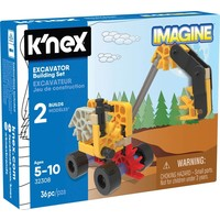 Excavator K`nex: 36 stuks