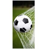 Non-License Badlaken voetbal 75x150 cm