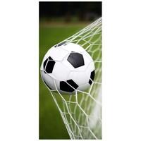Badlaken voetbal 75x150 cm