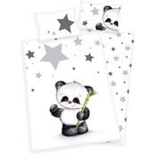 Dekbedovertrek panda ledikant