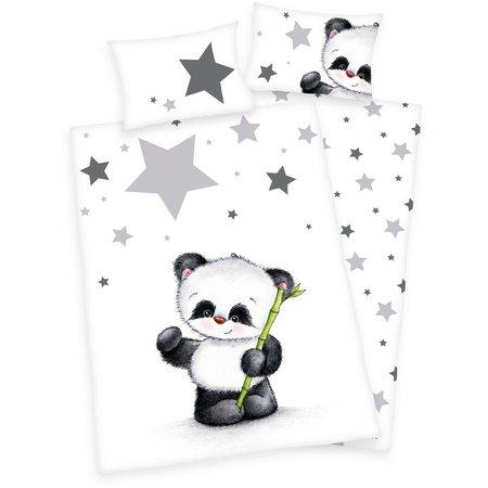 Non-License Dekbedovertrek panda ledikant