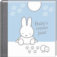 Boek Baby eerste jaar Nijntje blauw