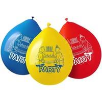 Ballonnen Buurman en Buurman: 8 stuks