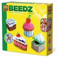 Beedz strijkkralen SES: taartjes 3d