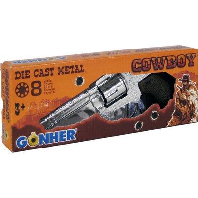 Gonher Cowboy Revolver Gonher 21 cm 8 schoten