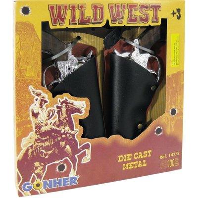 Gonher Cowboy set Gonher 23 cm 5-delig