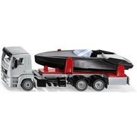 MAN truck met motorboot SIKU
