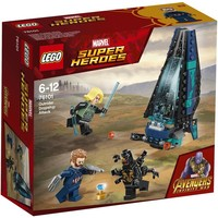 Outrider shuttle aanval Lego